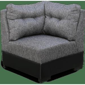 Sillón escuadra Gray-gris complemento sala por piezas